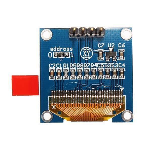 Giá 0.96 Inch 4Pin Trắng IIC I2C Môđun Màn Hình OLED 12864 LED Cho Arduino-