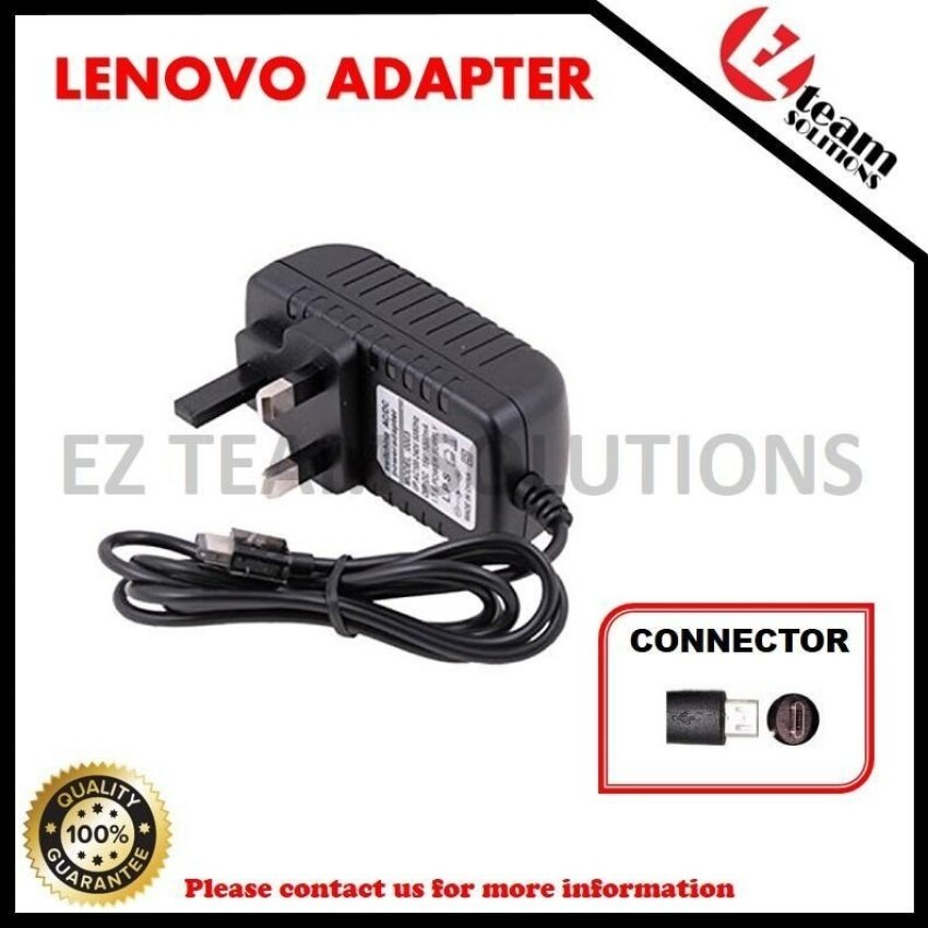 (1 Year Warranty) Replacement Laptop/Notebook AC Adapter ChargerFor LENOVO IdeaTab Yoga Tablet 10 5V 3A (15W) Micro USB - intl