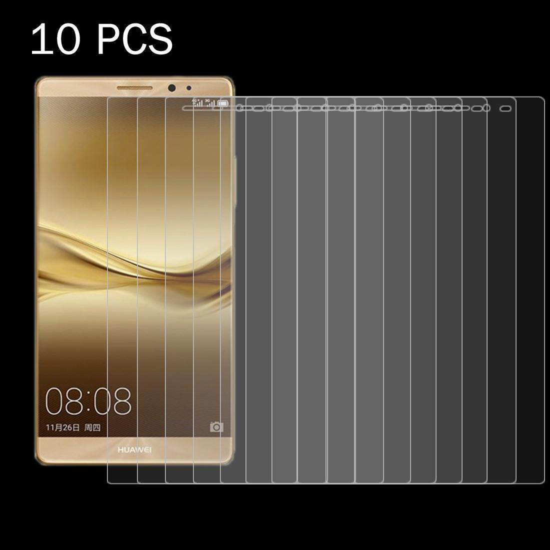 Price Comparisons For 10 Pcs Huawei Mate 8 26Mm 9H Surface Hardness 2 5D Curved Explosion Proof Tempered Glass Film Intl