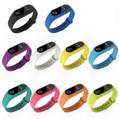 10 Pcs Silicone Replacement Watchband Watch Band Strap For Xiaomi Mi Band 2 Smart Bracelet By Stoneky.