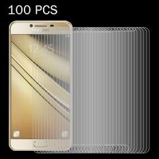 100 PCS For Samsung Galaxy C7 / C700 0.26mm 9H Surface Hardness 2.5D Explosion-proof Tempered Glass Screen Film