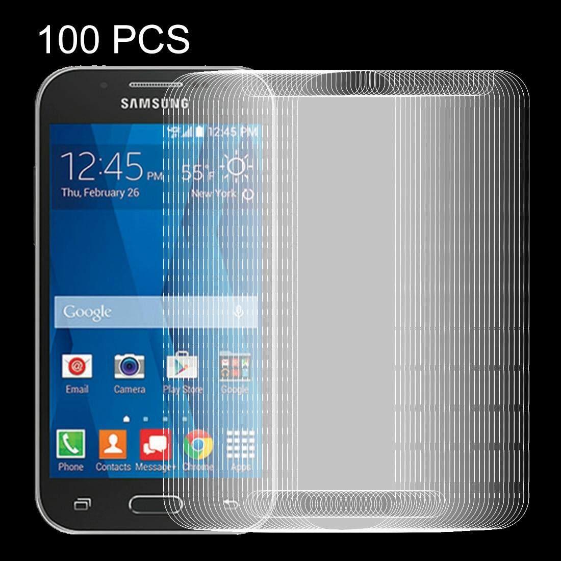 100 Pcs untuk Samsung Galaksi J1 Mini Prime/J106 0.26 Mm 9 H Kekerasan Permukaan Tahan Ledakan Tidak -Penuh Layar Film Anti Gores-Internasional
