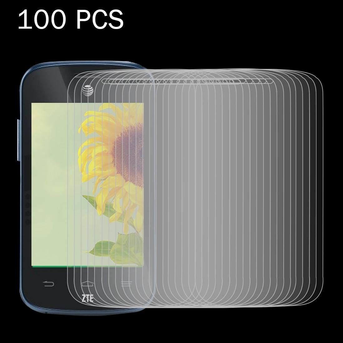 100 Pcs ZTE Zinger Z667 0.26 Mm 9 H Kekerasan Permukaan 2.5D Explosion-Tahan Film Anti Gores- internasional