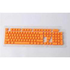 104 Keys PBT Keycaps Backlit Double-shot Keycaps for Mechanical Cherry MX Switch Orange Malaysia