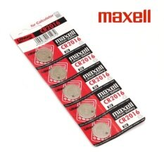 10PCS CR2016 GENUINE Maxell Japan Coin Cell Lithium Battery 3V Malaysia