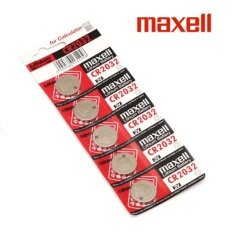 10PCS CR2032 GENUINE Maxell Japan Coin Cell Lithium Battery 3V Malaysia