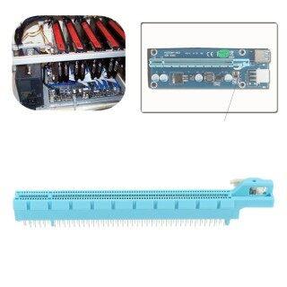 10 Cái Khe Cắm Chân PCIE PCI-E 16X 164, Bộ Chuyển Đổi Kết Nối Ổ Cắm Thẻ Video thumbnail