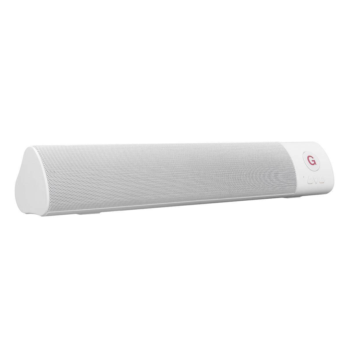 10W bluetooth HIFI Speaker Wireless FM Soundbar Stereo Bass Loudspeaker TF AUX White - intl
