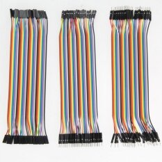 120pcs 20cm 2.54mm 1pin Jumper Wire DuPont Cable for Arduino Malaysia