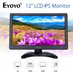 12 IPS 1920*1080 HD Monitor Display Screen VGA BNC Audio HDMI For PC CCTV Malaysia
