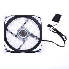 12cm 120mm 3Pin 4Pin PC Computer LED Cooling Brushless Fan(White) Malaysia