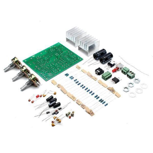 Giá 12V 30W DIY TDA2030A Hai Kênh Bộ Khuếch Đại Công Suất Bộ Bảng Mạch-