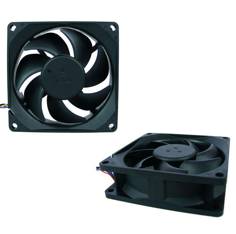 12V 4-Pin Motherboard Connector PC Computer Case Cooling Cool Fan Mod 8*8*2.5cm - intl