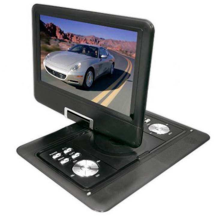 14 inch portable dvd player tft lcd monitor with built in mp3 mp4 usb sd card slot black lazada. Black Bedroom Furniture Sets. Home Design Ideas