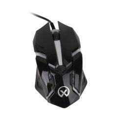Dreamall 1600 DPI USB Colorful LED Optical Wired 3D Gaming Mouse(Black) Malaysia