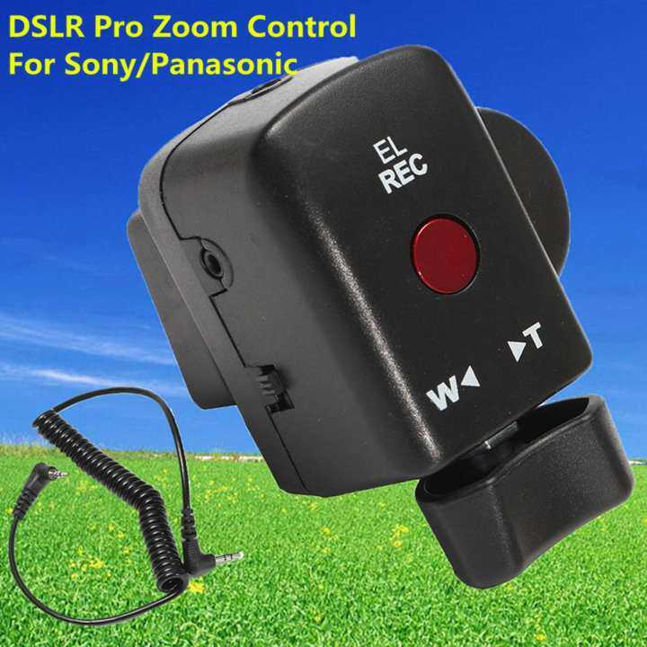 180A 130AC DV ACC DSLR Pro Zoom Control For Sony LANC A1C 150P Panasonic New