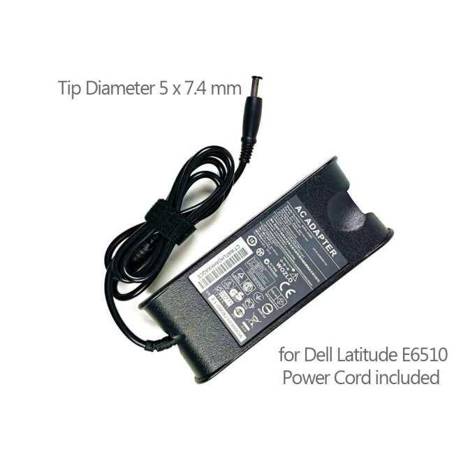 19.5V 4.62A 90W Laptop AC Adapter for Dell Latitude E6510 with UK Power Cord (Black) - Intl