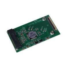 1PC New Mini mSATA PCI-E SSD To 40pin ZIF CE Cable Adapter Card Hot