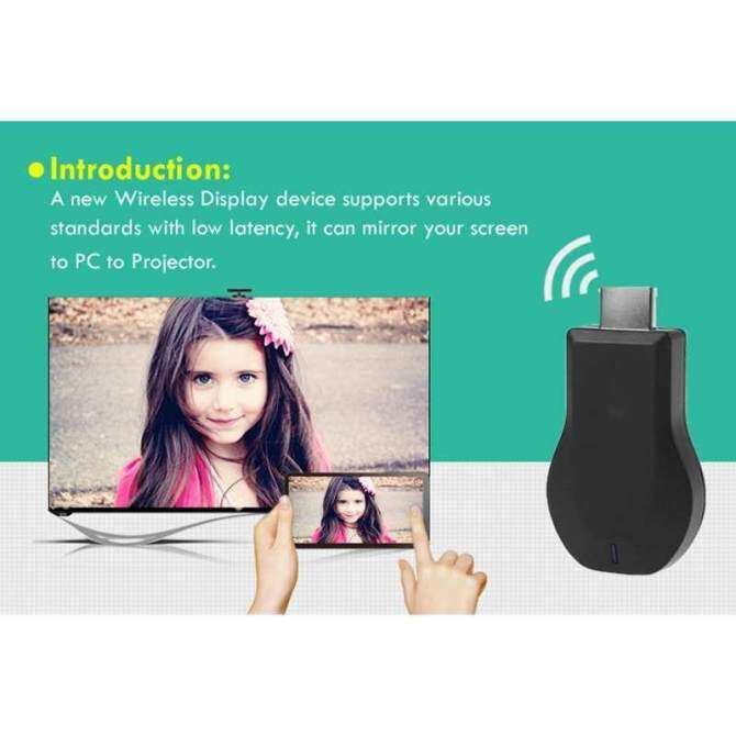 1 Pcs Mirascreen 2.4g Stik Tv Nirkabel Usb Hdmi Wifi Tampilan Tv Perangkat Penghubung Miracast By The Wangda8 Shop.