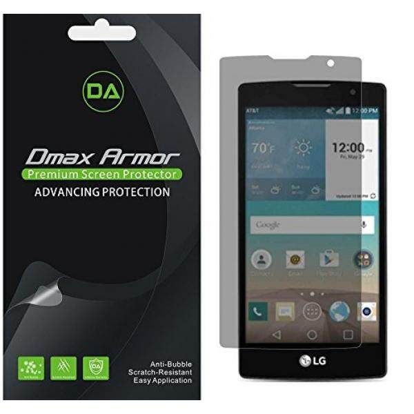 [2-Pack] DMAX Armor-LG Melarikan Diri 2/LG Logo Privasi Anti-Spy Pelindung Layar Pelindung- seumur Hidup Penggantian Garansi-Retail Packaging-Intl