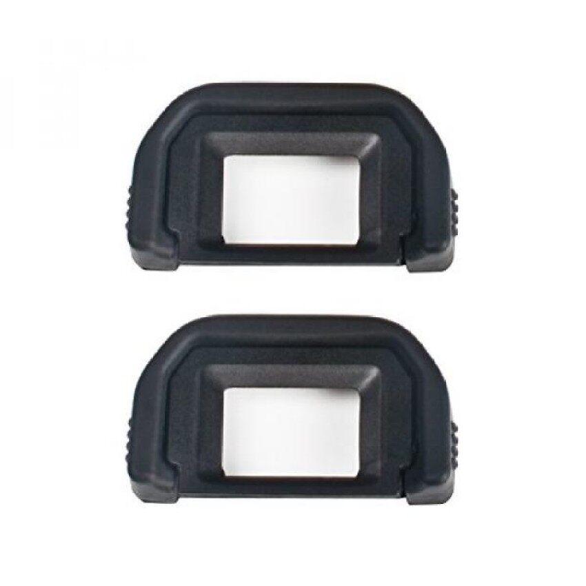 (2 Pack) VKO Lensa Mata/Eyecup (Canon EF Penggantian) untuk Canon Rebel (T6s T6i T6 T5i T5 T4i T3i T3 T2i T1i Xti XSI XS), EOS (1300D 1200D 1100D 760D 750D 700D 650D 600D 550D) DS Jendela Bidik Kamera-Internasional