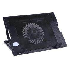 2 USB Adjustable Laptop Cooling Pad Stand for PC Notebook Malaysia