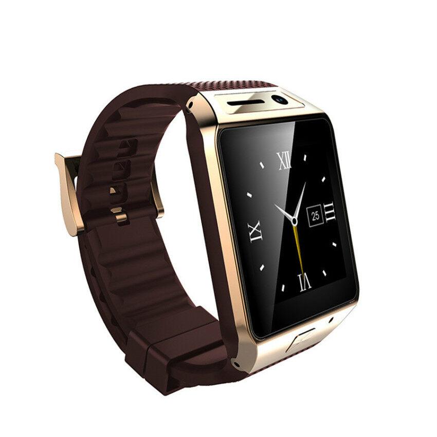 2015 Update Gv08s Pintar Jam Tangan Fv08s 1.5 Inch 2.0 M Kamera Mendukung Kartu SIM Bluetooth Alat Pengukur Langkah untuk Ponsel Android Jam Tangan Pintar Emas &-Internasional
