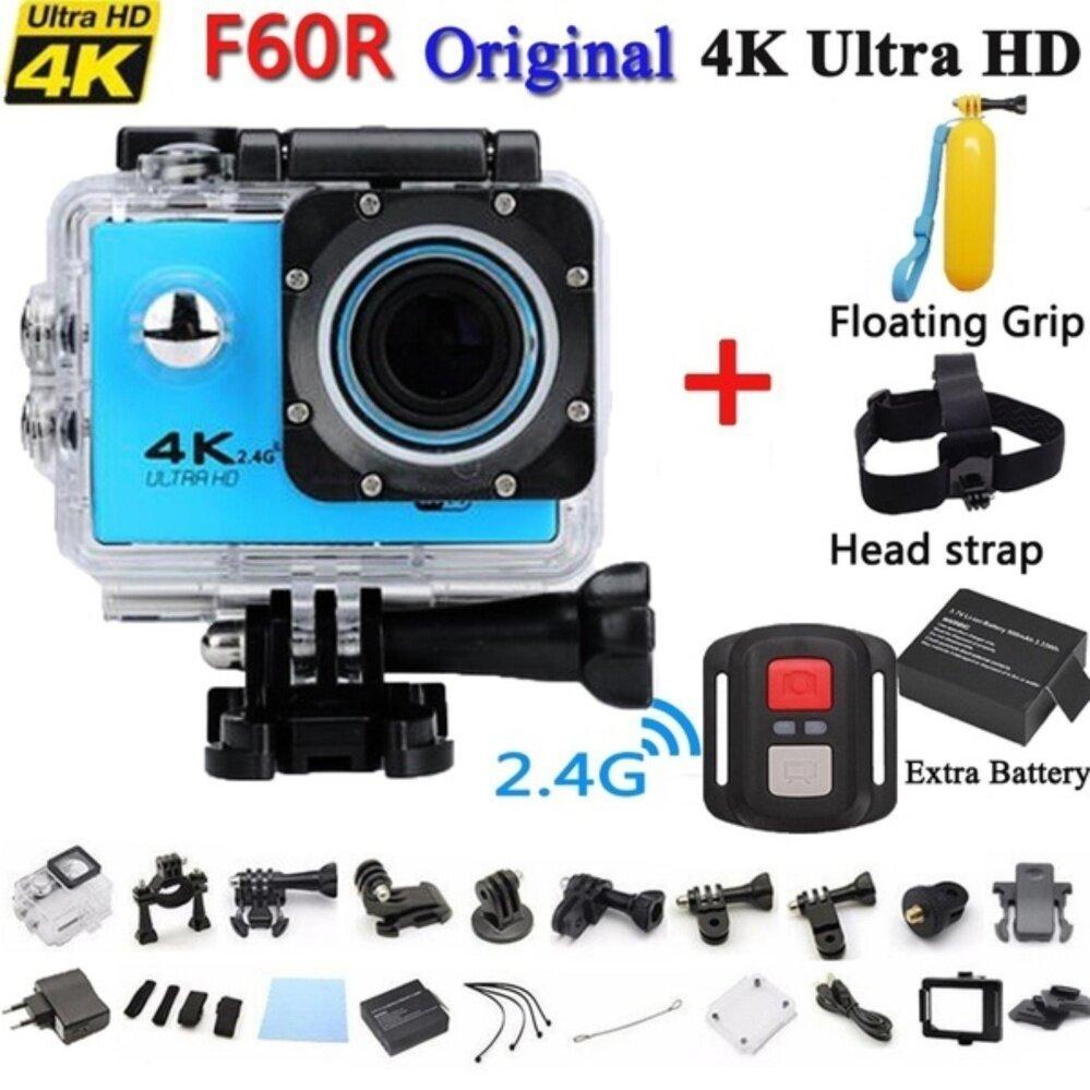 2018 Baru Arrival Olahraga Kamera Aksi 4 K F60R Allwinner V3 + IMAX 179 4 K 30fps 1080 P 60fps 4 K F60 Kamera Aksi Jadilah Unik-Internasional