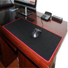 2017 Promotion Wholesale Ultralarge Thickening Mouse Pad Large Desk Pad Keyboard Pad Table Mat Big Mouse Pads 30*70*0.2cm red Malaysia