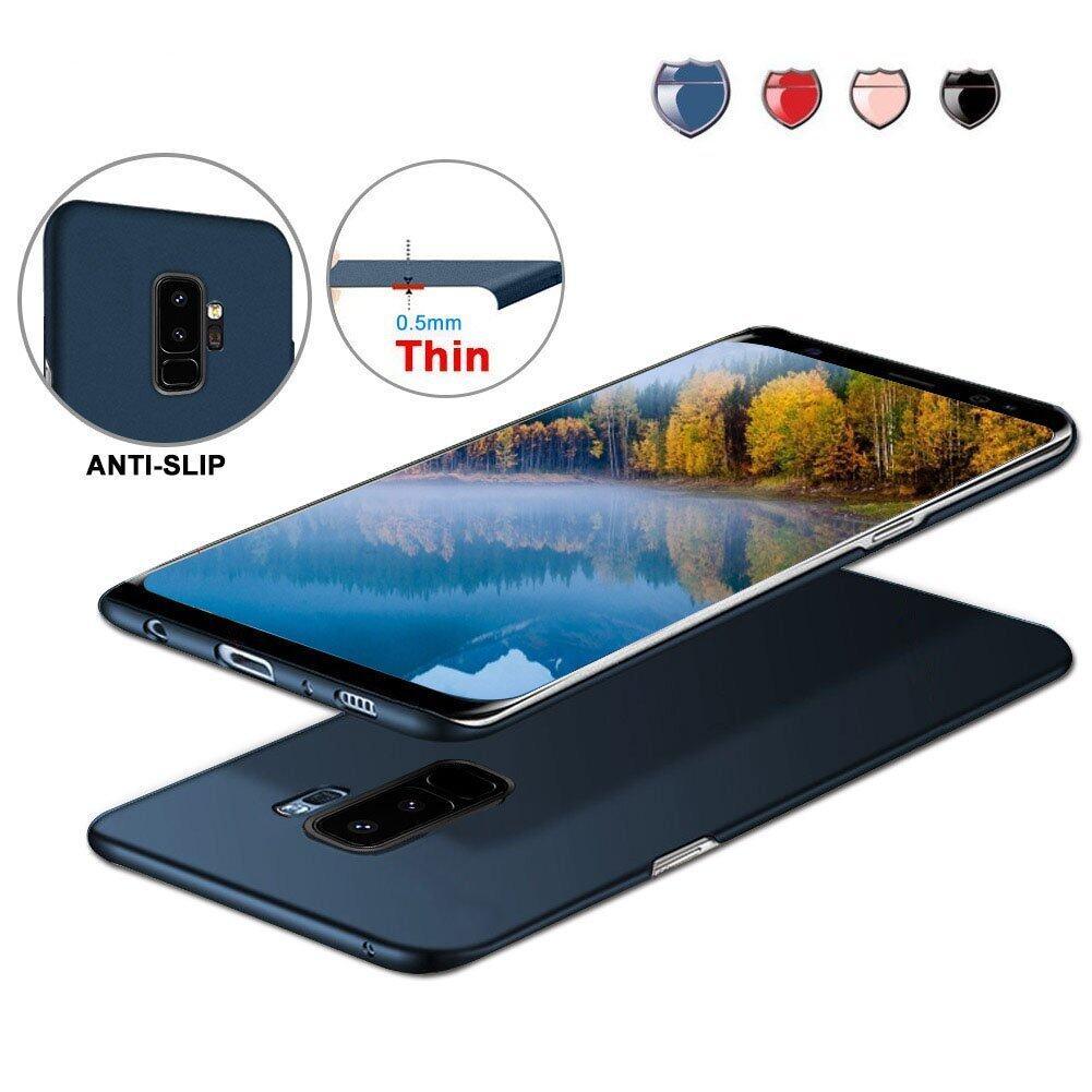 2018 Baru Modis Warna Tidak Mengkilap Buah Ultra Tipis Keras Belakang Case untuk Samsung Galaksi S9 Plus Beku Pelindung Sarung Kulit cangkang untuk Galaksi S9 Plus-Internasional