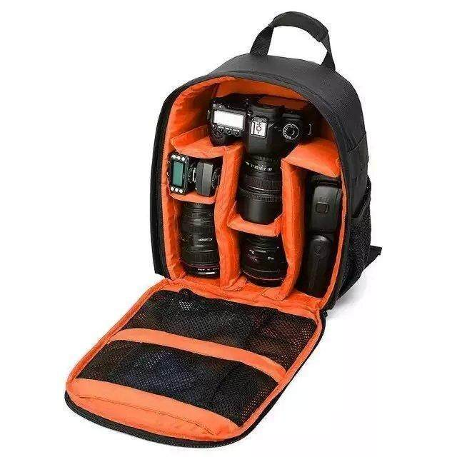 Low Price 2018 New Outdoor Travel Slr Dslr Camera Backpack Durable Digital Waterproof Camera Video Bag With Clapboard For Canon Nikon Sony Intl