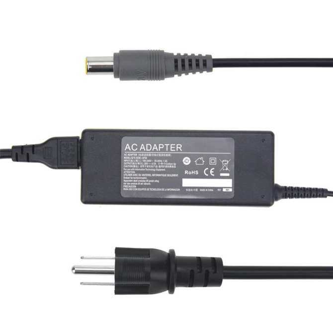 20V 4.5A 90W Replacement AC Adapter Laptop Charger Power Supply for IBM Lenovo T400 T410 T410s T500 T510 R400 R500 T X R SL Series Tablet IdeaPad Z510 (Output Connector size: 7.9mm5.5mm) - intl