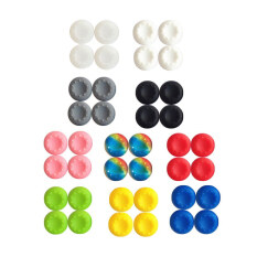 20x Silicone Joystick Thumb Stick Grips Cap Case for PS3 PS4 Xbox One/360 Random Malaysia