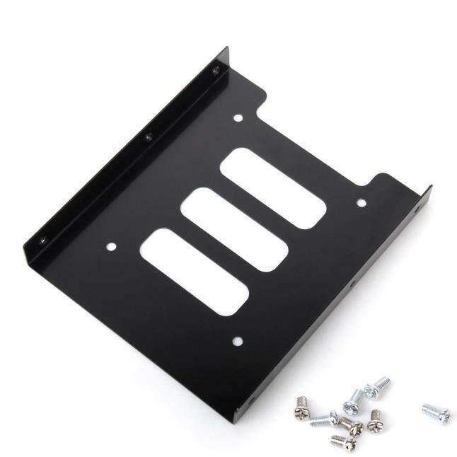 2.5 Cm SSD HDD untuk 3.5 Cm Adaptor Pemasangan Braket Dermaga Penyangga Perangkat Keras untuk PC-Internasional