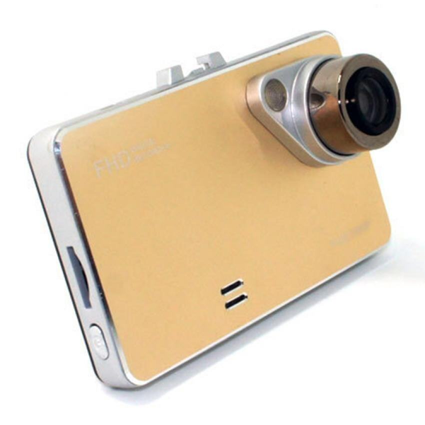 "NiceTop 2.7"" 1080P HD Car DVR Wide Angle Lens Car Camera Recorder (Golden)"