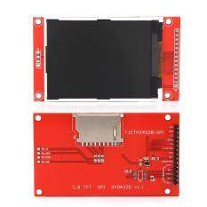 2.8 240x320 SPI TFT LCD Serial Port Module With PCB ILI9341 5V/3.3V Malaysia