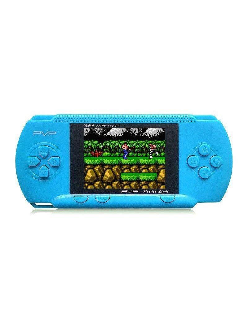 Permainan Konsol Genggam Fitzladd 2 8 Inci LCD PVP Pemain Game Konsol Permainan Genggam Klasik.