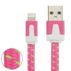 3M 2A Woven Pattern Lightning 8Pin USB Data Sync Charging Cable Cord for. Source ·