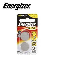 2PCS CR2025 GENUINE Energizer Lithium Batteries 3V (E-CR2025BP-2) Malaysia