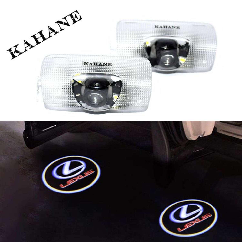 XK-GM 2pcs No Drill LED Car door Welcome laser projector .