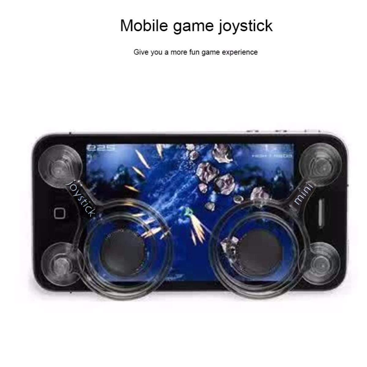 2pcs/Set Zero Any Touch Screen Joystick Smartphone mobile phone Joysticks mobile Mini Joysticks For Phone tablet Arcade Games