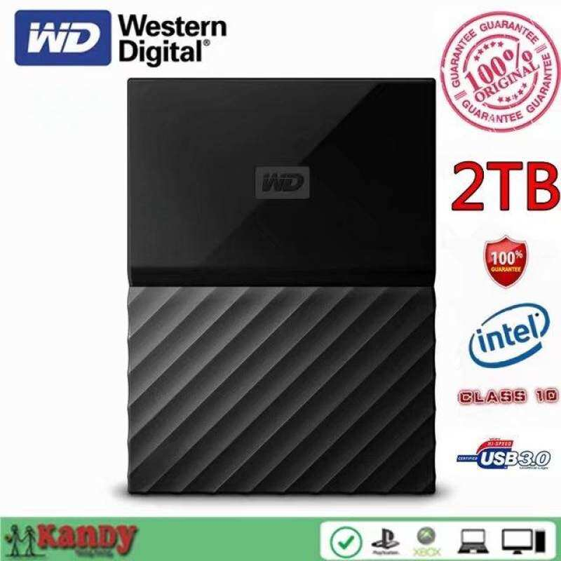 2TB WD My Passport Ultra USB 3.0 external hard drive hdd disco duro externo disque dur externe harici portable Malaysia