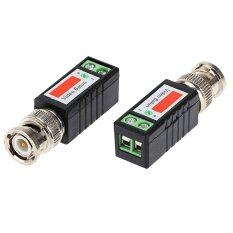 2x Coax Cat5 Camera Cctv Passive Bnc Video Balun Utp Transceiver Connector 76bn By Aokago.