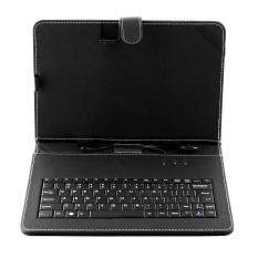 3 colors Universal genuine Leather Case Cover + Keyboard For 10 Inch Tablet PC Malaysia