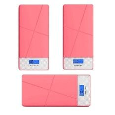 3 Unit Pineng Pn-983 Power Bank 10000Mah-Pink