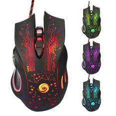 3200DPI LED Optical 6D USB Wired Pro Gaming Mouse For PC Malaysia