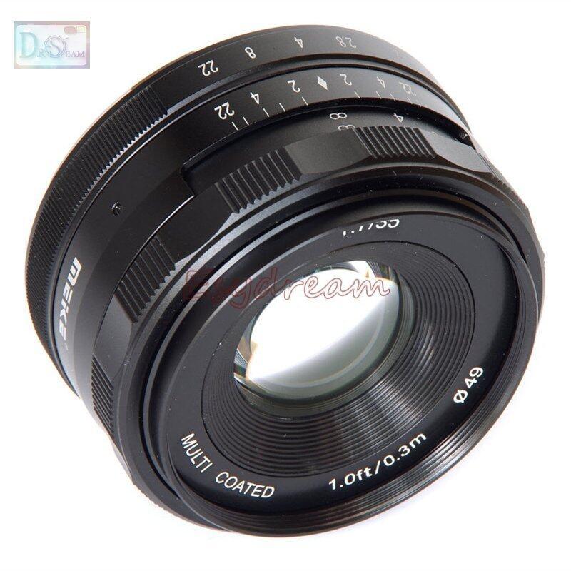 NiceEle 35mm 35 F1.7 Manual Lens for Fujifilm Fuji FX X-T10 X-T2 X-T1 X-A3 X-A2 X-A1 X-PRO2 X-PRO1 X-E2 X-E1 X-M1
