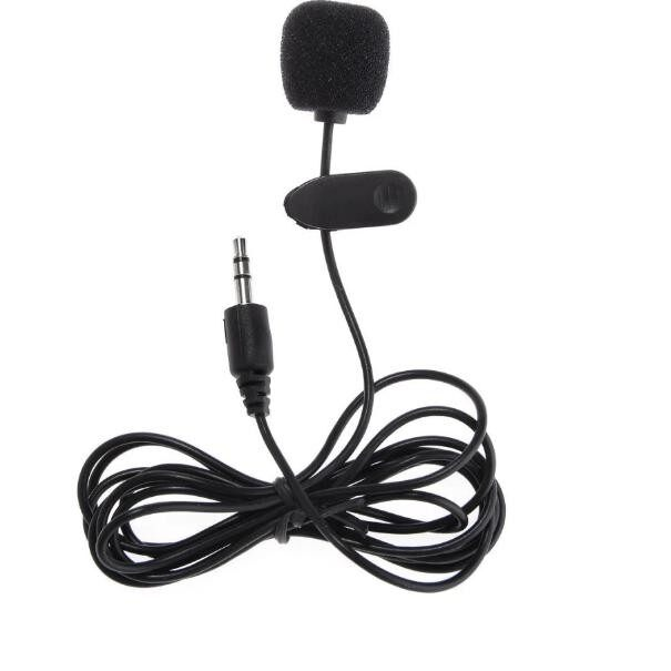 Paling Murah 3 5mm Hands Free Clip On Mini Microphone For Pc Laptop
