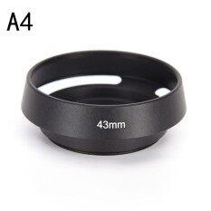 37 39 40.5 43 46 49 52 55 58 62 67 Mm Logam Tutup Lensa untuk Leica Canon Nikon Jenis: a4