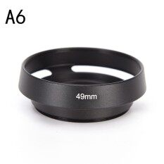 37 39 40.5 43 46 49 52 55 58 62 67 mm metal Lens Hood for FOR Leica Canon Nikon   Type:A6